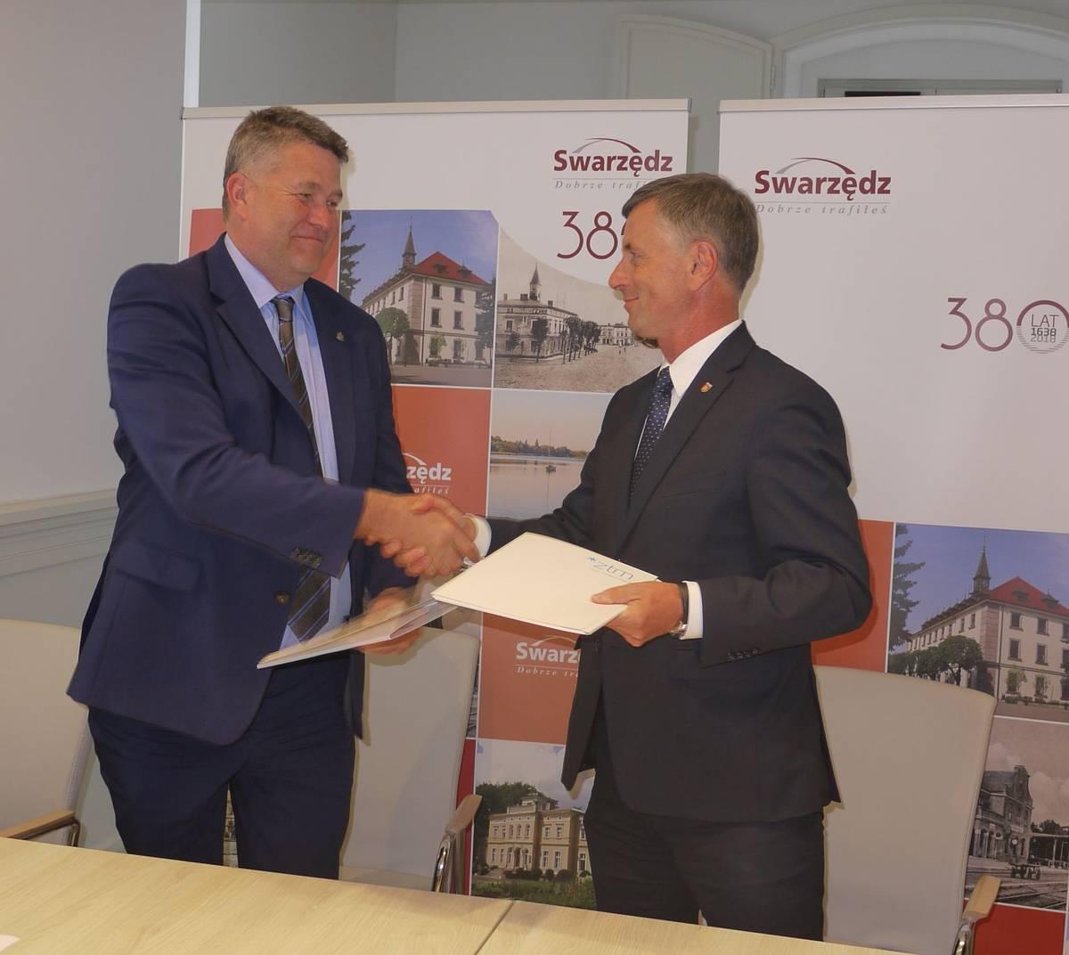 Kolejny krok do integracji transportu publicznego Miasta Poznania i Gminy Swarzędz