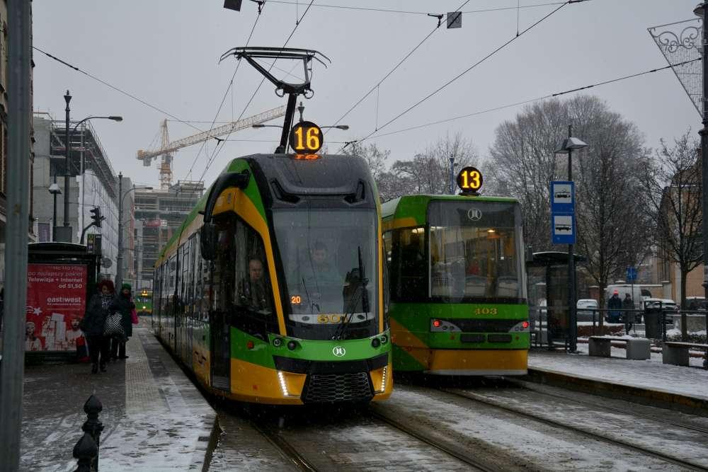 Zmiany w komunikacji tramwajowej od stycznia 2019. Więcej kursów na liniach nr 6, 12, 16 i 17