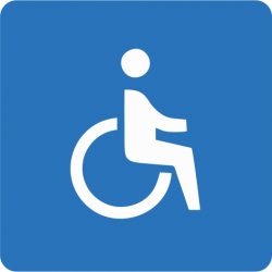 Wózek inwalidzki - symbol