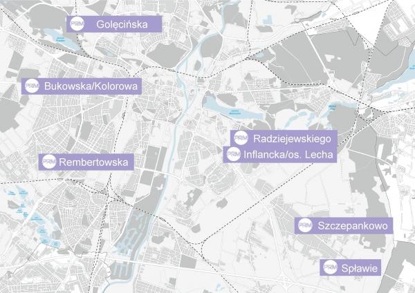 7 nowych lokalizacji PRM 4G