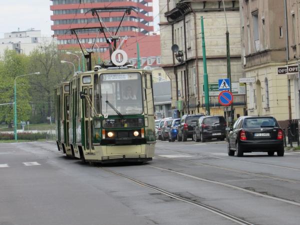 zdjecie przedstawia tramwaj linii turystycznej 0