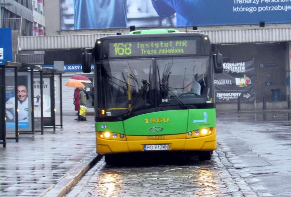Od 1 marca nastąpi zmiana tras linii autobusowych nr 160 i 168 ...