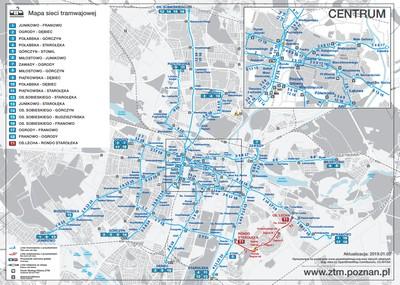 Mapy I Schematy Sieci Zarzad Transportu Miejskiego W Poznaniu